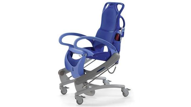 Equimed produits fauteuil hygienique ergonomique carendo for Fauteuil chambre hopital